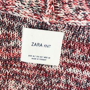 Zara Sweaters - Zara Knit Multicolored Open Fron Cardigan